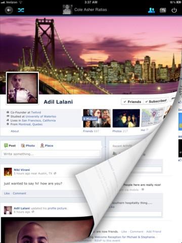 Timeline For Facebook