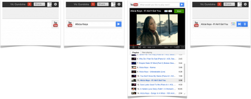 YouTube Slider