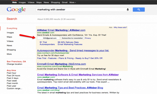 Marketing with Aweber