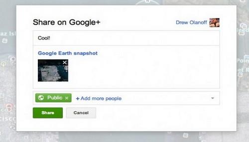 Share Google Earth