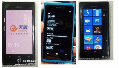 Lumia 800 China