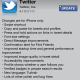Twitter Updates its iPhone Application