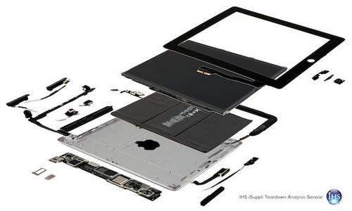 New iPad Exploded