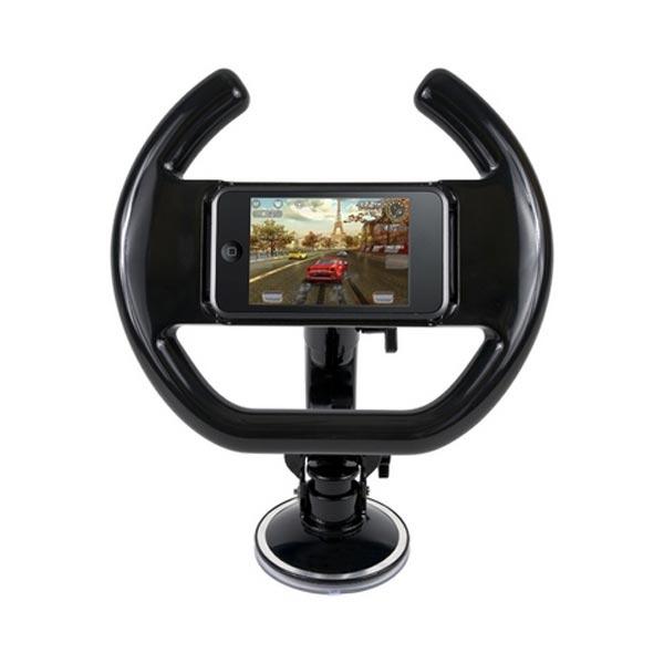 Enjoy Racing with iPhone Racing Wheel