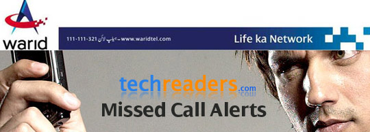 Warid Introduces Missed Call Alerts Service