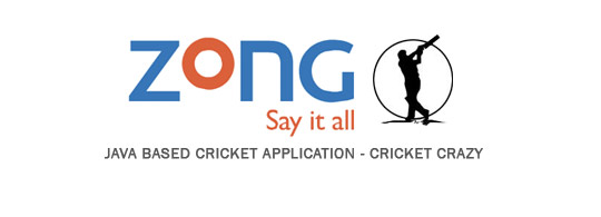 Zong Introduces Java App Cricket Crazy – Ball to Ball Live Updates