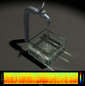 Simulation of Water Sounds by Computer Scientists