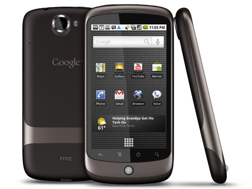 The Nexus One Smartphone is the Next from Google