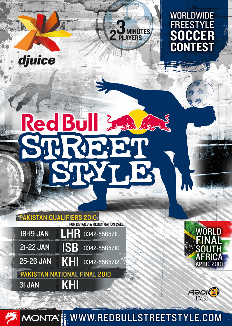 Djuice Sponsors Red Bull Street Style! – Finals on Sunday