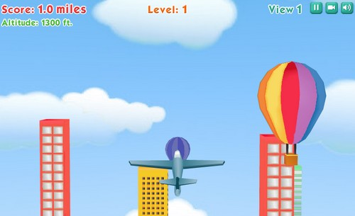 Pakistan's First Flash Game 'Fly By' on Facebook