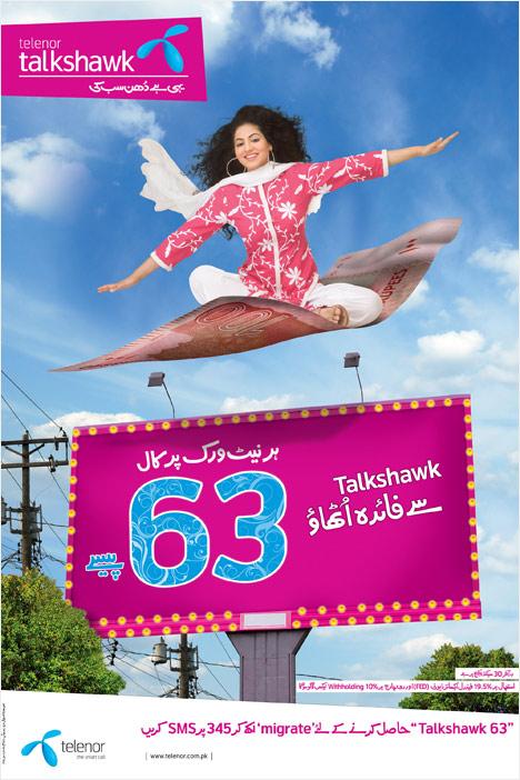 Telenor Packages: Talkshawk 63 Package