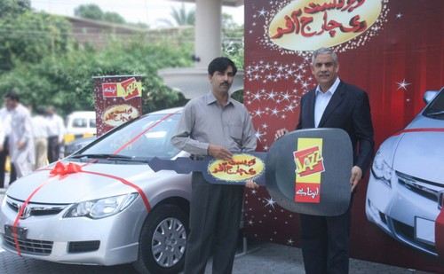 Mobilink Jazz Gives Away 3 Cars and Air-Tickets