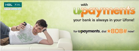"Ufone Launches Mobile Banking ""UPayments"""