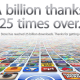 Apple's App Store Strikes 25 Billion Downloads